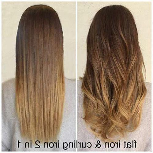 KIPOZI Hair Titanium Flat High Anti Frizz