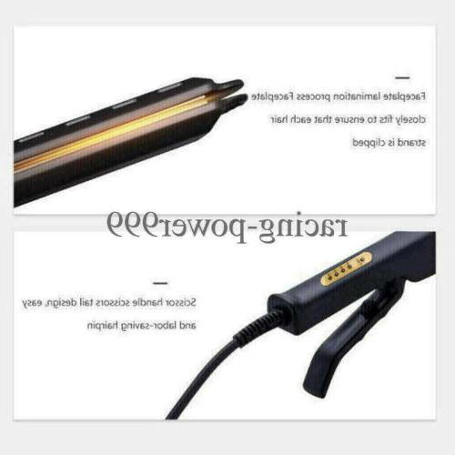 Ionic Hair Straightener Glider US New