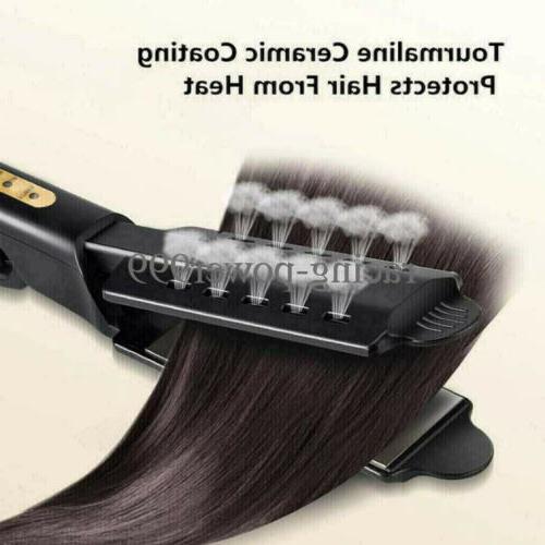 Four Gear Tourmaline Ionic Flat Iron Hot Hair US New
