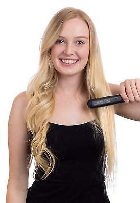 """Herstyler Hair Straightener 1.25"""" Black"""