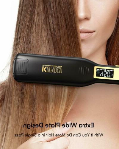 KIPOZI Pro Straighteners Styler Plate Display