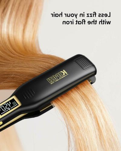KIPOZI Professional Hair Flat Iron 1.75 Inch