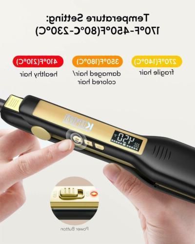 KIPOZI Straighteners Styler 1.75 Inch Display