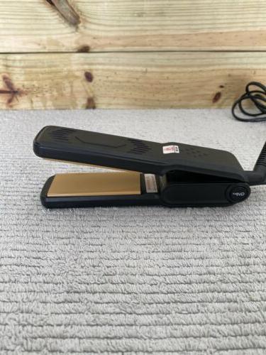 travel size hair straightener flat iron wide