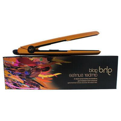 wanderlust collection amber sunrise gold styler flat