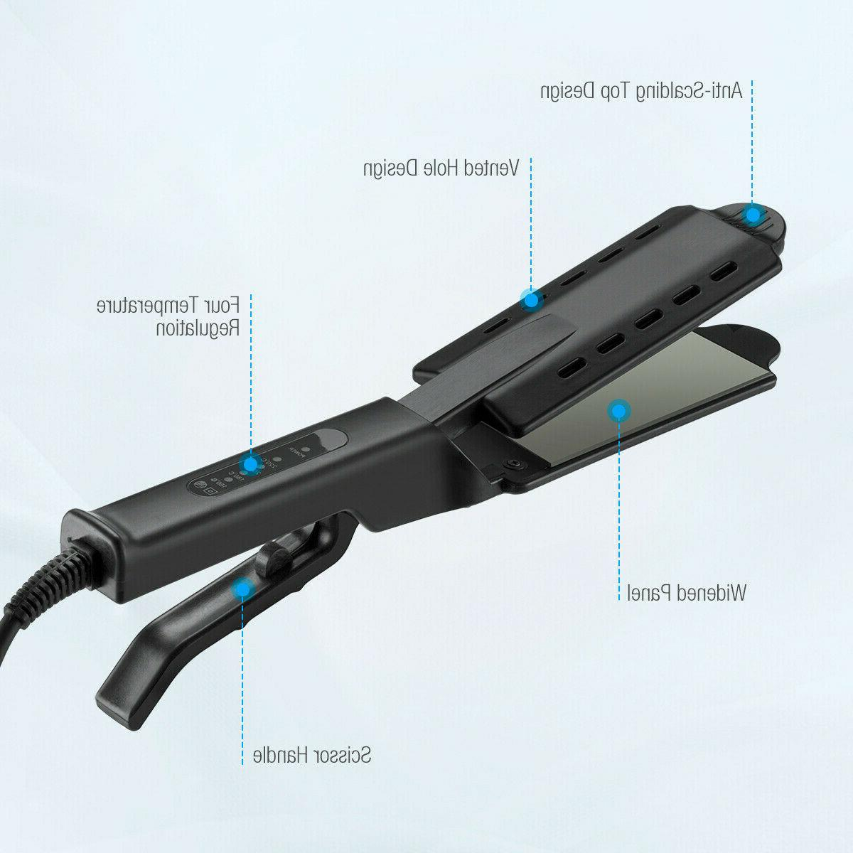Four Gear Ceramic Ionic Hair Straightener Glider New