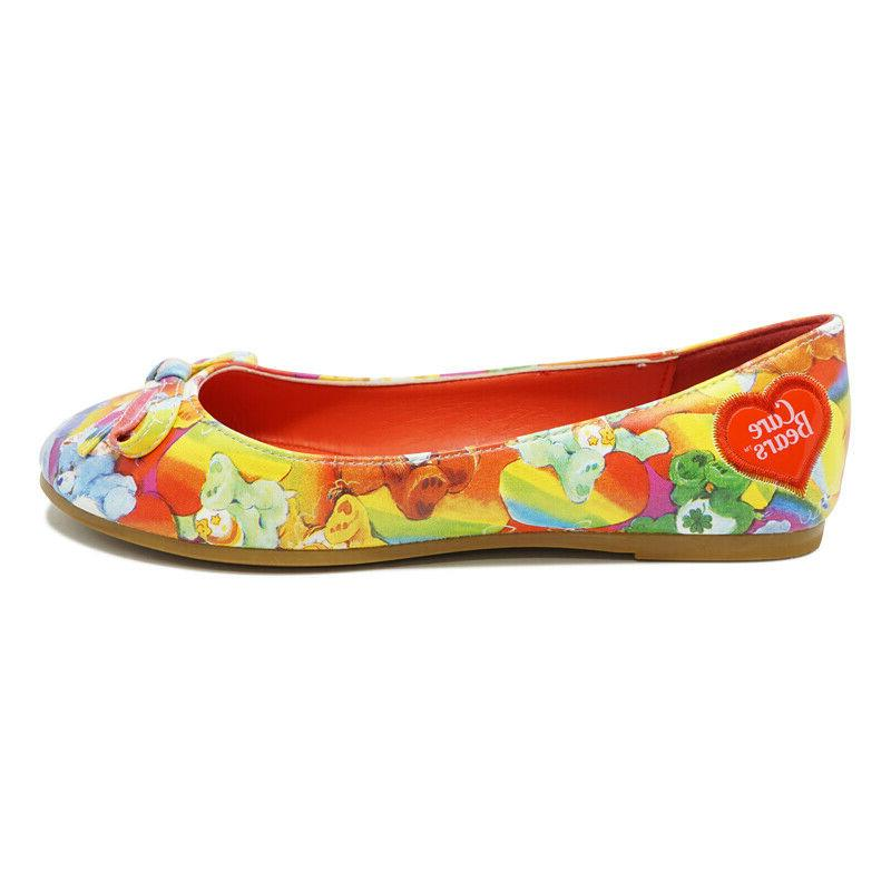 womens lots a rainbows care bears flat