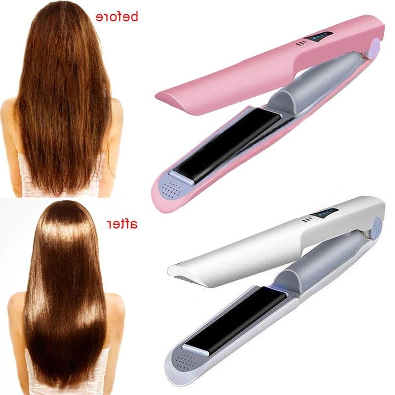 XMX-Usb Hair Straightener Cordless <font><b>Flat</b></font> <font><b>Iron</b></font>