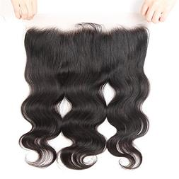 """West Kiss 13x4"""" Full Lace Frontal Closure With Baby Hair Ear"""