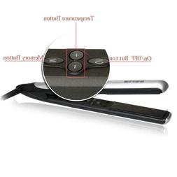 Berta LED Display Ceramic Tourmaline Hair Straightener Strai