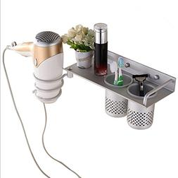 Multifunctional Bathroom Organizer & Storage - Wall Mount To