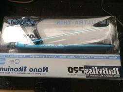 "BaByliss Pro Nano Titanium 1 1/2"" Ultra Thin Flat Iron #6066"