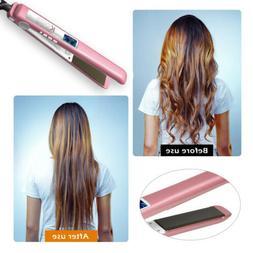 KIPOZI New Fashion Flat Iron Hair Straighteners 2 in 1 450°