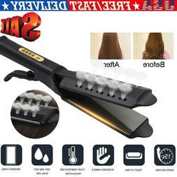 NEW Hair Straightener Ceramic Tourmaline Ionic Flat Iron Pro