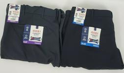 New Mens IZOD Performance Stretch Dress Pant Flat Front No I