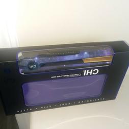 "NIB New 1"" CHI Stargazer Ceramic Flat IronBlue with Purple"