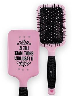 Paddle Hair Brush for Detangling & Styling - Ideal for Blow-