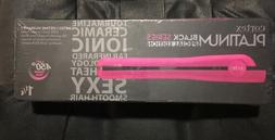 platnium black series hot pink flat iron