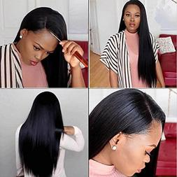 plucked lace frontal closure peruvian