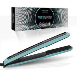 "Absolute Heat Pro Ion Digital Flat Iron 1"" Fusion Blue Titan"