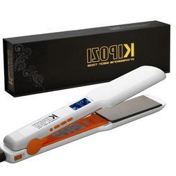 KIPOZI Pro Nano-Titanium Hair Straightener 1.75 Inch Flat Ir