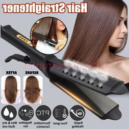 Professional Electric Hair Straightener Four Gear Ceramic Io