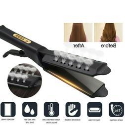 professional hair straightener tourmaline ionic flat iron