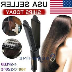 Professional Steam Hair Straightener Ceramic Tourmaline Ioni