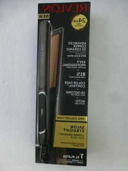 Revlon RVST2175 Salon Straightener Copper + Ceramic Flat Iro