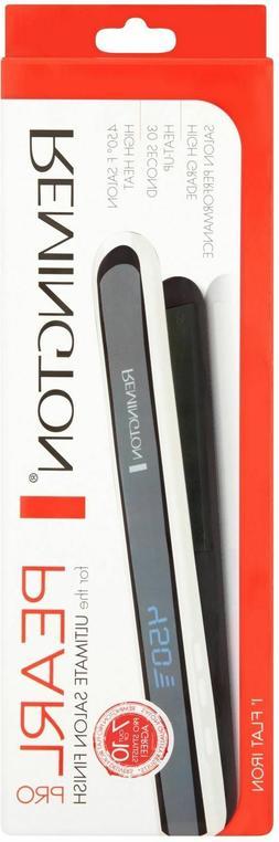 Remington S9500PP Pearl Pro Ceramic Flat Iron 1-inch Black
