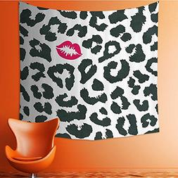 Nalahomeqq Safari Decor Custom tapestry By Leopard Cheetah A
