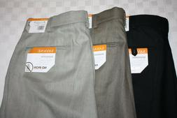sharkskin no iron straight fit men s