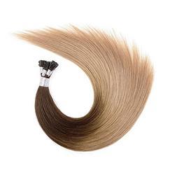 """Ty.Hermenlisa 18"""" Silky Straight Micro Rings Hair Extensions"""