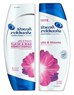 Head & Shoulders Smooth and Silky 24 Hour Frizz Control Dand