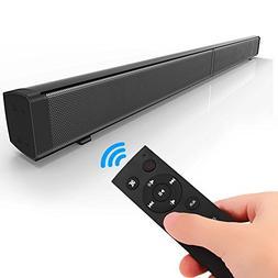 JIATENG Soundbar 4.0 Wireless Bluetooth Speakers and Wired S