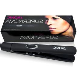 SuperNova Professional Laser Hair Straightener and Curler,In