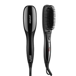 Trèsutopia Ionic Hair Straightening Brush with Fast Heated