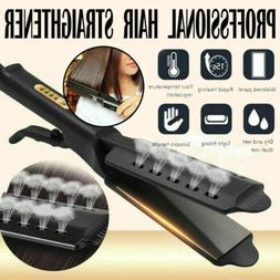 USA Ceramic Tourmaline Ionic Flat Iron Hair Straightener Pro