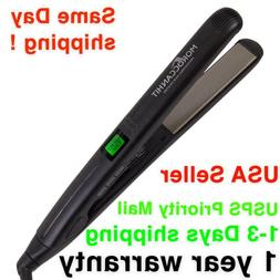 Hair Straightener Flat Iron Titanium 1/1.75-Inch Digital Dis