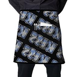 Yaerta Waist Apron With 2 Pockets Fashion Camo Kiss (Restaur
