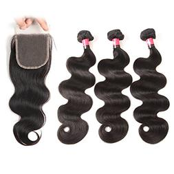 West Kiss Hair Brazilian Body Wave Virgin Remy Human Hair Ex