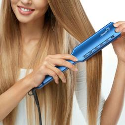 OVONNI Wet & Dry Nano Titanium Flat Iron Hair Straightener W