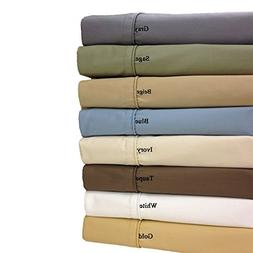 white cotton blend wrinkle sheets